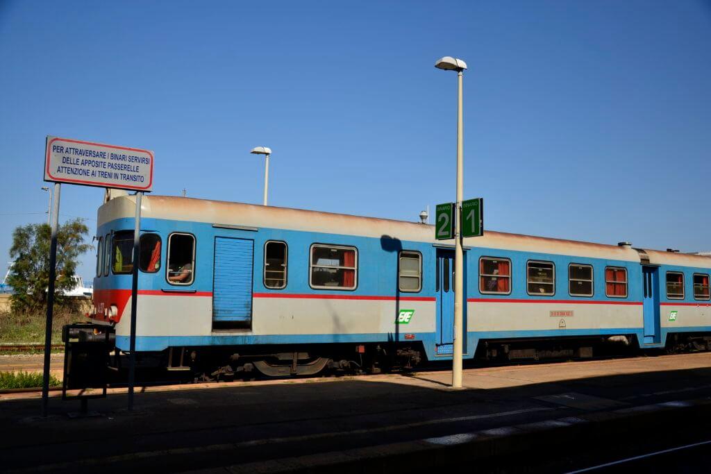 Pociągiem po Apulii