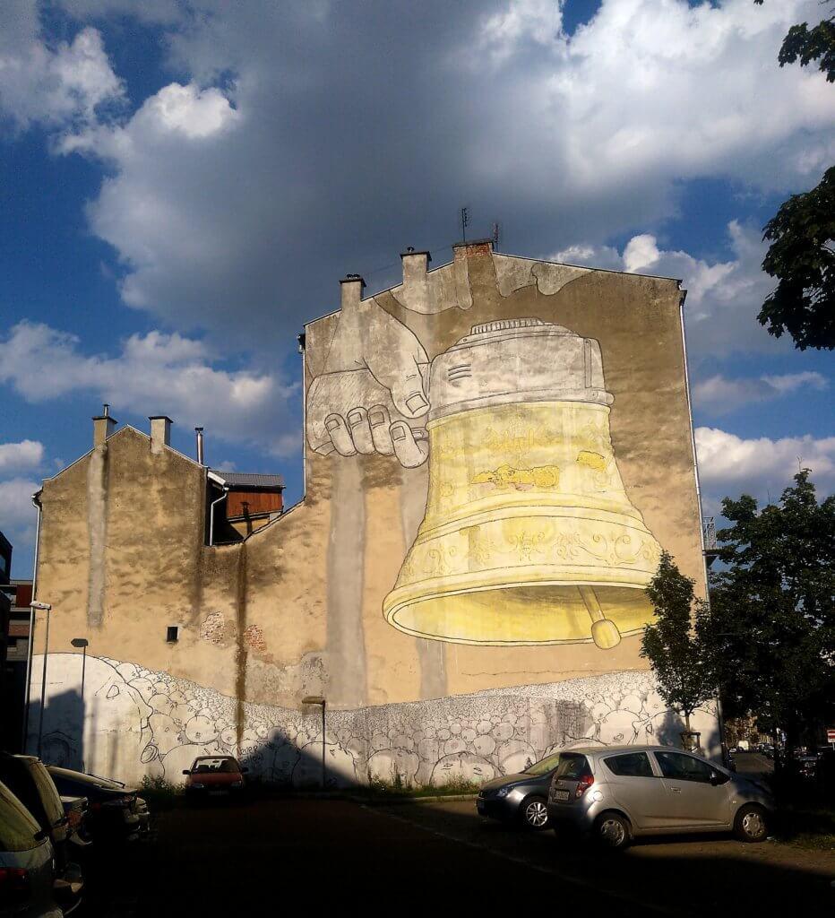 BLU mural Kraków