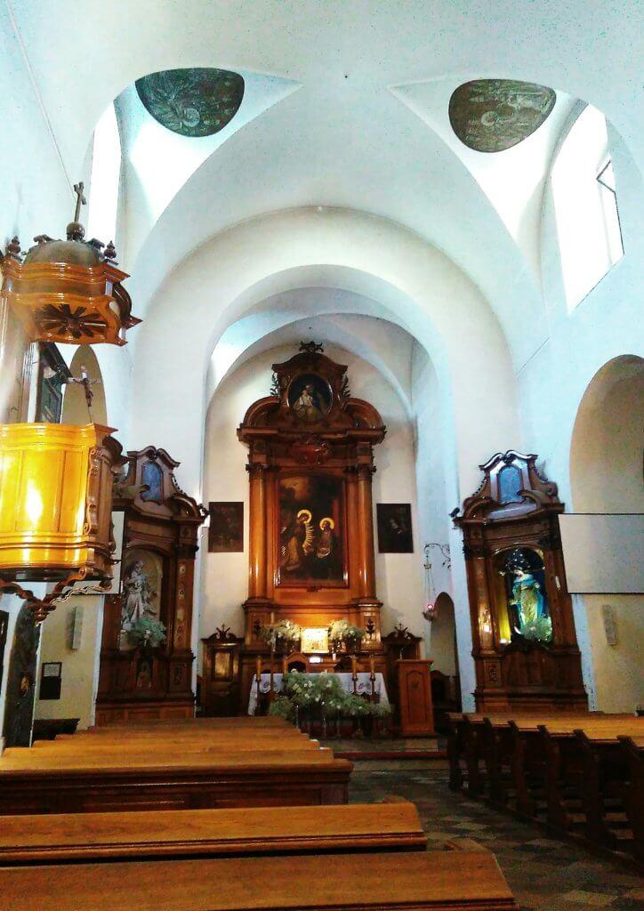 kościół kapucynów Kraków