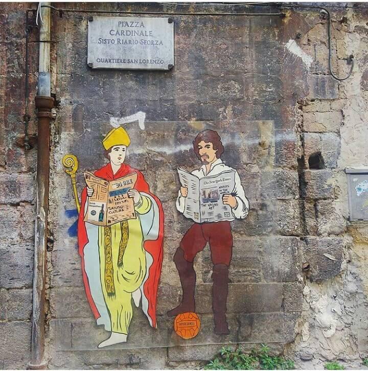 street art Neapol